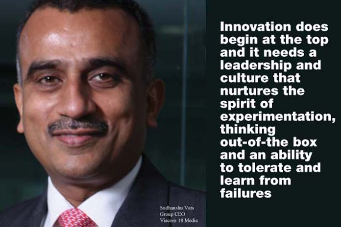 Innovation is in the DNA of Viacom18, Pickle Media