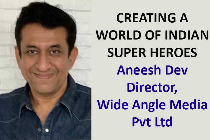 CREATING A WORLD OF INDIAN SUPER HEROES, Pickle Media