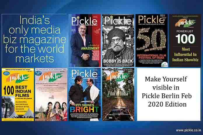 Pickle Magazine will bring out Special India Focused Berlinale Print Edition, Pickle Media
