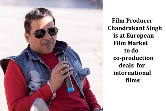 Chandrakant Singh is Looking for a Coproduction Partner at Berlinale, Pickle Media