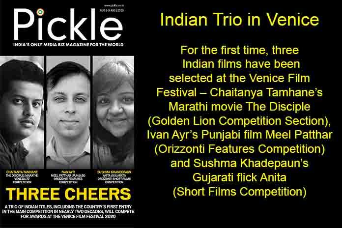 Indian Trio in Venice, Pickle Media