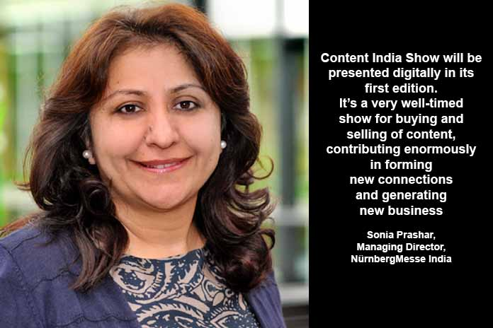 NürnbergMesse's Content India Show from October 29-31, Pickle Media