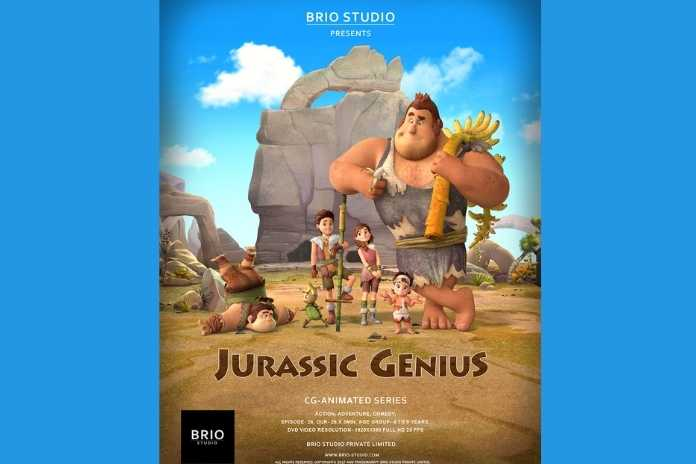 Jurassic Genius by Brio Studio, Pickle Media