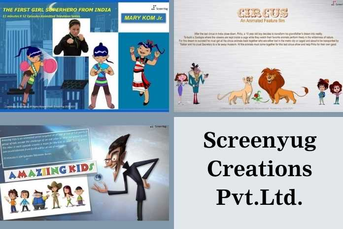 Animation Co-Production Projects by Screenyug Creations Pvt.Ltd., Pickle Media