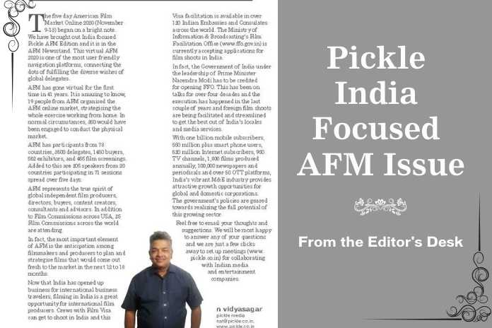 Pickle AFM 2020 Issue Editorial, Pickle Media