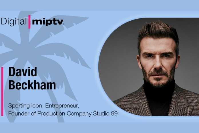 MIPTV to Feature David Beckham's first TV keynote, Pickle Media