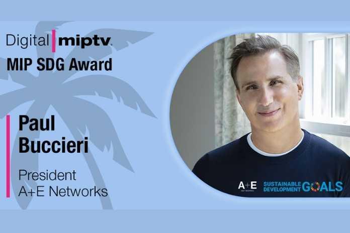 MIPTV honours A+E Networks president Paul Buccieri, Pickle Media