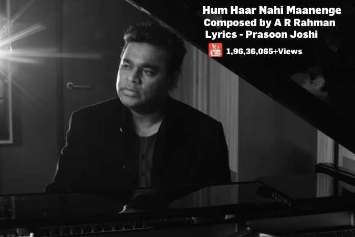 A R Rahman's Covid 19 Anthem goes Viral