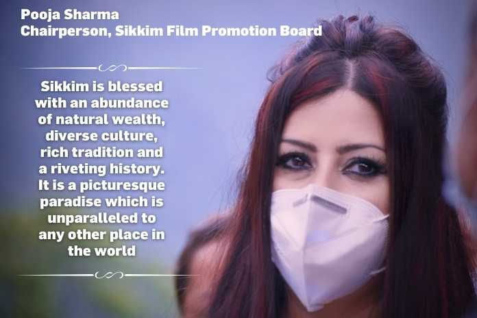 Pooja Sharma, Chairperson, Sikkim Film Promotion Board
